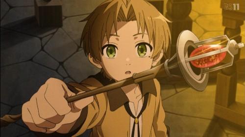 「無職転生~異世界行ったら本気だす~」第2話 魔法の杖をもらったルーデウス