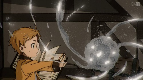 「無職転生~異世界行ったら本気だす~」第1話 中級魔術を詠唱するルーデウス