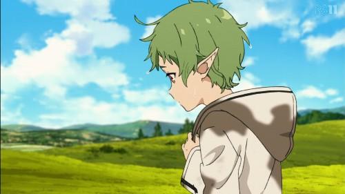 「無職転生~異世界行ったら本気だす~」第3話 緑の髪のシルフィエット