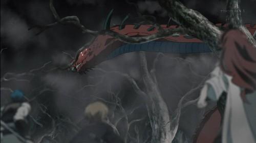 「無職転生~異世界行ったら本気だす~」第11話 ブレイズをくわえたレッドフードコブラ