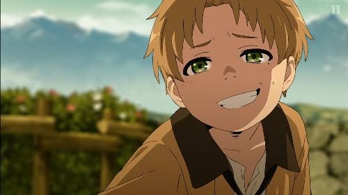 「無職転生~異世界行ったら本気だす~」第1話 気持ち悪い笑顔のルーデウス