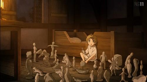 「無職転生~異世界行ったら本気だす~」第2話 ルーデウス 土魔術