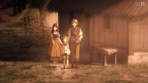 「無職転生~異世界行ったら本気だす~」第3話 シルフィエットと両親